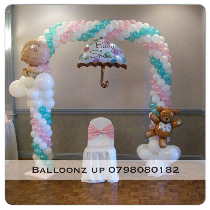 baby shower balloon arch baby pinterest