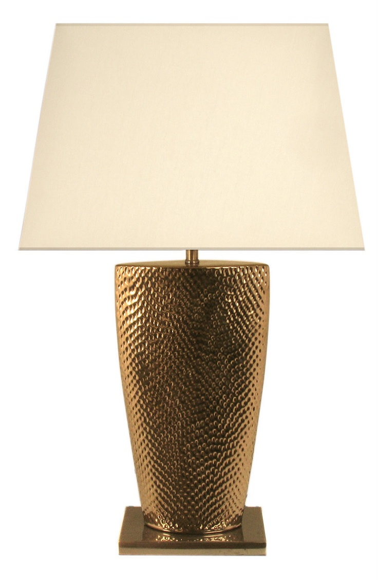 new gold bahama large table lamp with 20 inch cream shade ebay. Black Bedroom Furniture Sets. Home Design Ideas