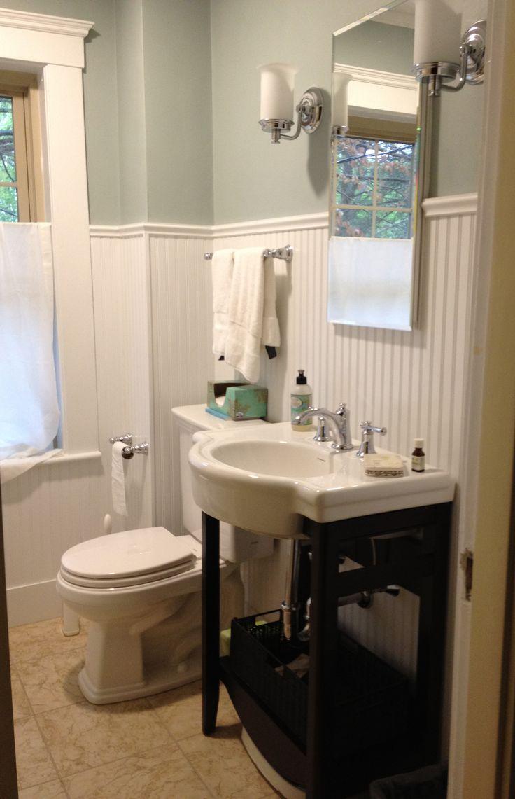 Circa 1915 tudor home bath renovation www for Tudor bathroom ideas