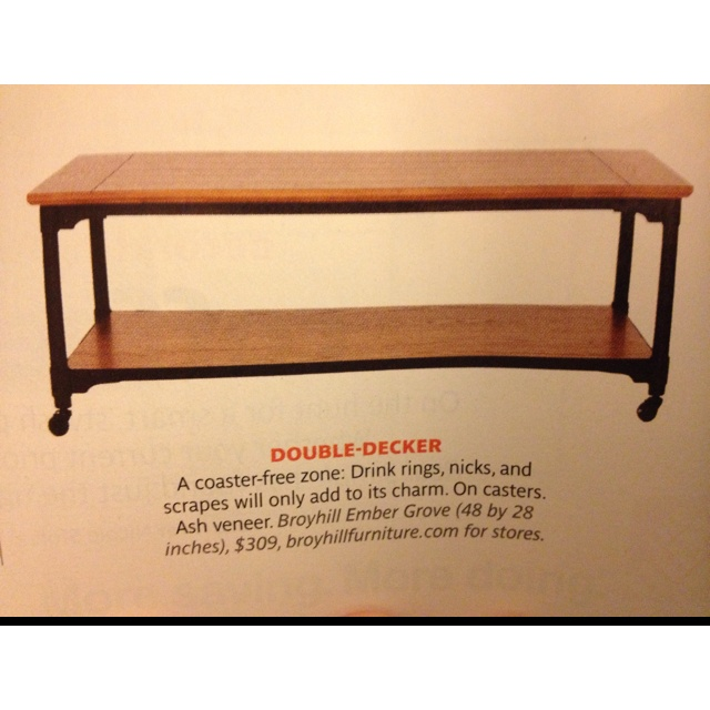 Beautiful Coffee Table Seen In Real Simple Magazine More Expensive