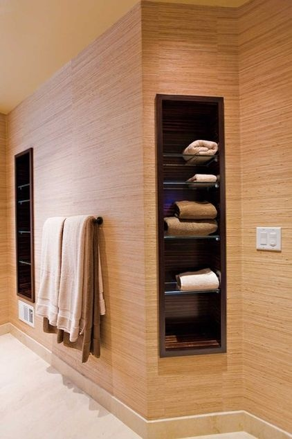 Recessed Bathroom Storage My Future Home A Girl Can