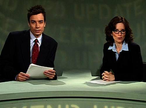 Hands down. Best Weekend Update Team: Tina Fey & Jimmy Fallon