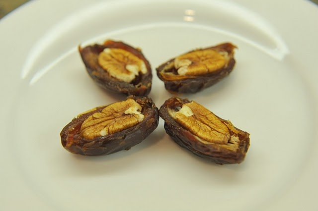 Medjool Dates + Pecans = FEAST Pecan Pie. You can also freeze medjool ...