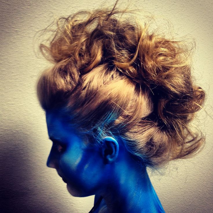Avatar Mohawk? | Braids, Curls and up styles | Pinterest
