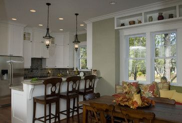 ... Cottage - eclectic - kitchen - raleigh - Blue Sky Building Company