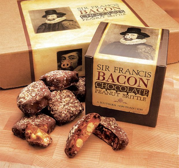 Sir Francis Bacon Peanut Brittle | food and drinks | Pinterest