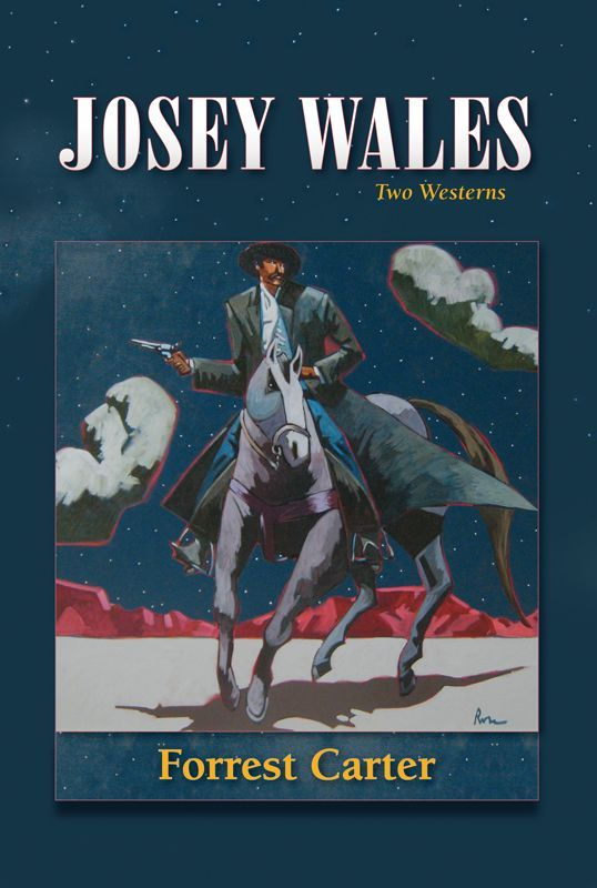 "... book is ""The Vengence Trail of Josey Wales"" Another well written book"