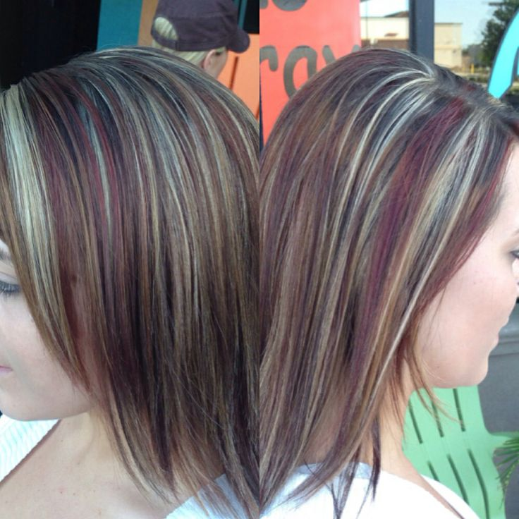 Red Violet Highlights
