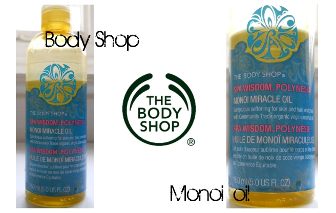 Body shop monoi miracle oil being a body shop at home consultant i got