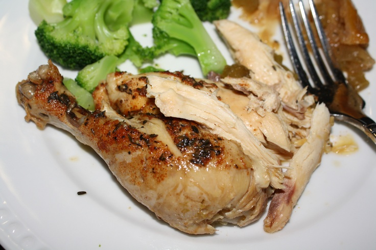 Paleo Slow Cooker Roast Chicken | Surf and Turf | Pinterest
