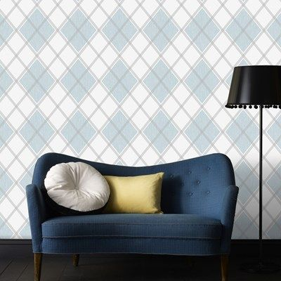 Graham & Brown Wallpaper   Argyle