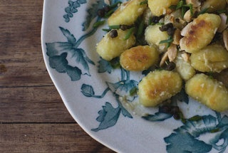 Green Olive Gnocchi | Recipe