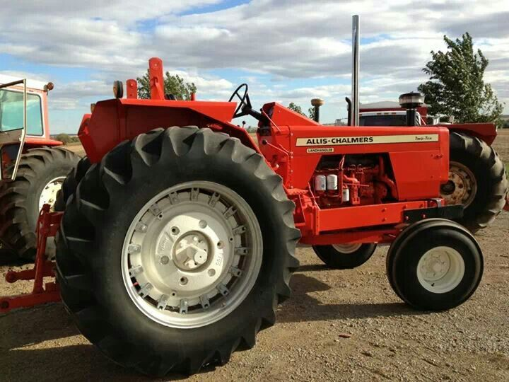Allis Chalmers 210 tractor.   Down on the Farm   Pinterest
