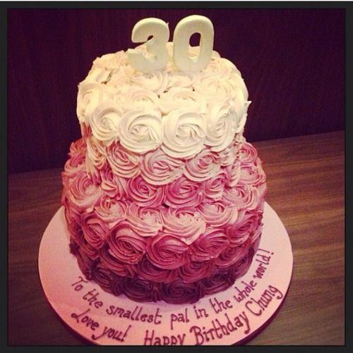 Alexa chung 39 s 30th birthday cake 30th birthday ideas for 30th birthday cake decoration