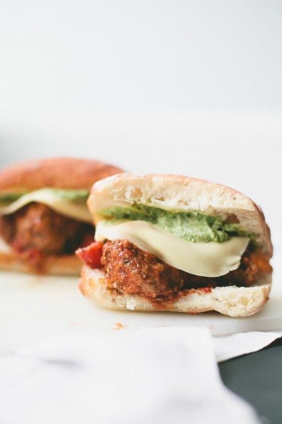 meatball sandwich | Sandwiches | Pinterest