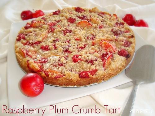 Raspberry Plum Crumb Tart | Pies & Tarts | Pinterest