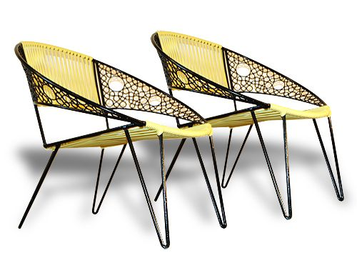 Very cool patio chairs Mid century Design