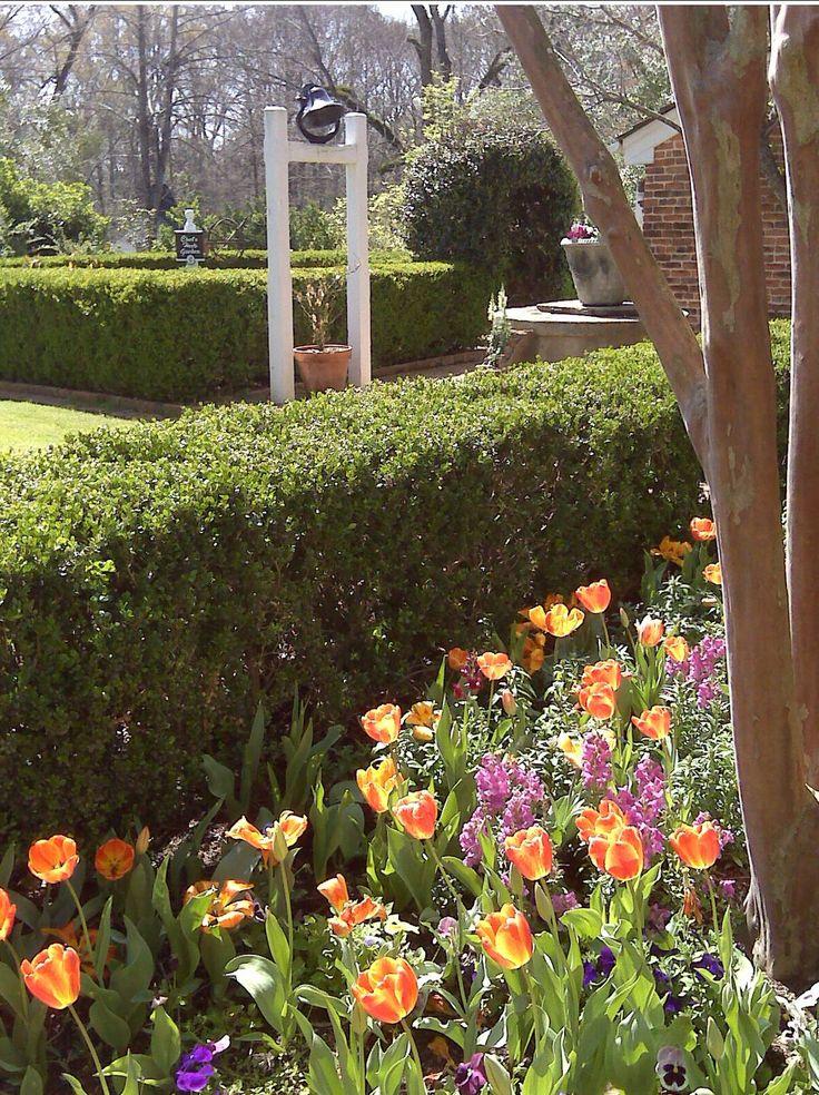 The courtyard garden for Courtyard landscaping pinterest