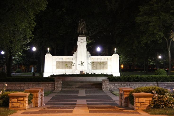 memorial park oshawa remembrance day