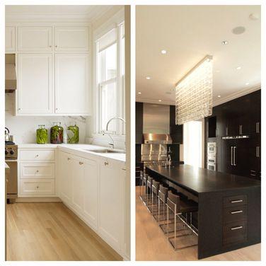 Best Poll Black Or White Kitchen Houzz Mrs Kitchen 400 x 300
