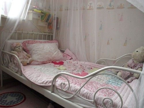 Minnen Toddler Bed From Ikea ~ ikea minnen bed  Big girl room ideas  Pinterest