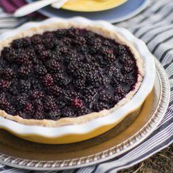 Summer Blackberry Pie | PIE | Pinterest