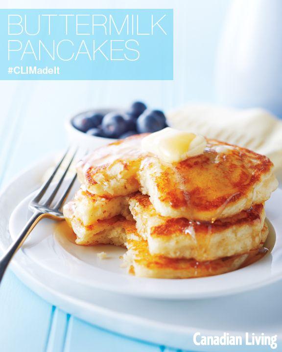 Best Buttermilk Pancakes   Recipes   Pinterest