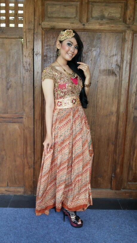 Dress batik indonesia   Style I love   Pinterest