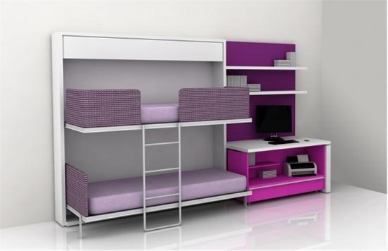 Bunk beds that fold into the wall epic cool bunk beds - Bunk beds that fold into wall ...