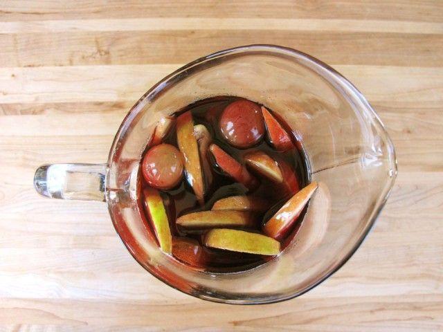 Thanksgiving Cider Sangria | Recipe