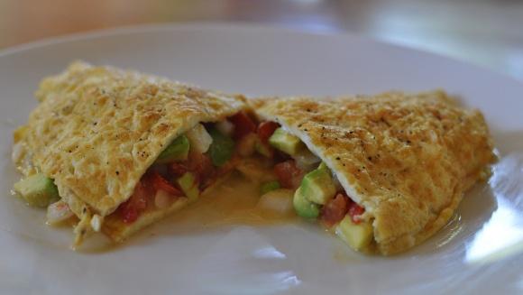 Guacamole Omelet | Breakfast Daydreaming (GF) | Pinterest