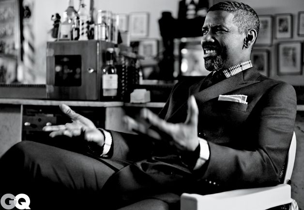 Denzel Washington for GQ.