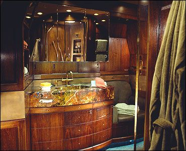 Bathroom private jets for sale executive jets for sale for Private jet bathroom