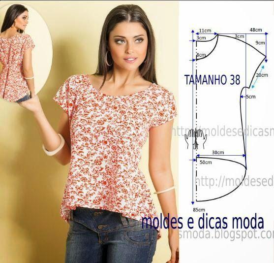 Как сшить блузку быстро