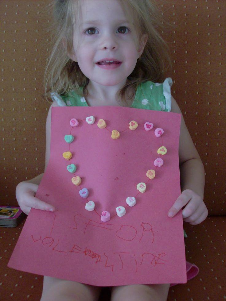 preschool valentine ideas