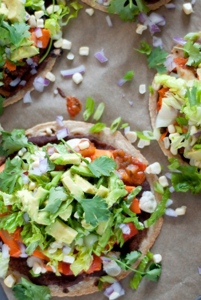 Mexican Tostada Pizzas | Smash | Pinterest