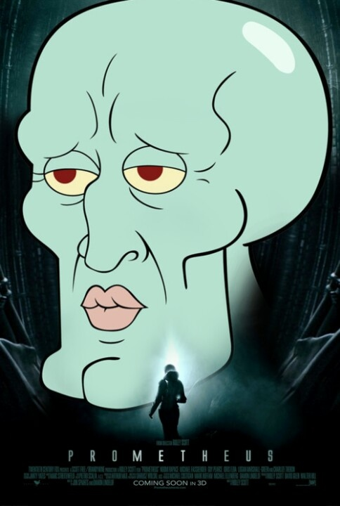 Beautiful squidward is an engineer - 69.0KB