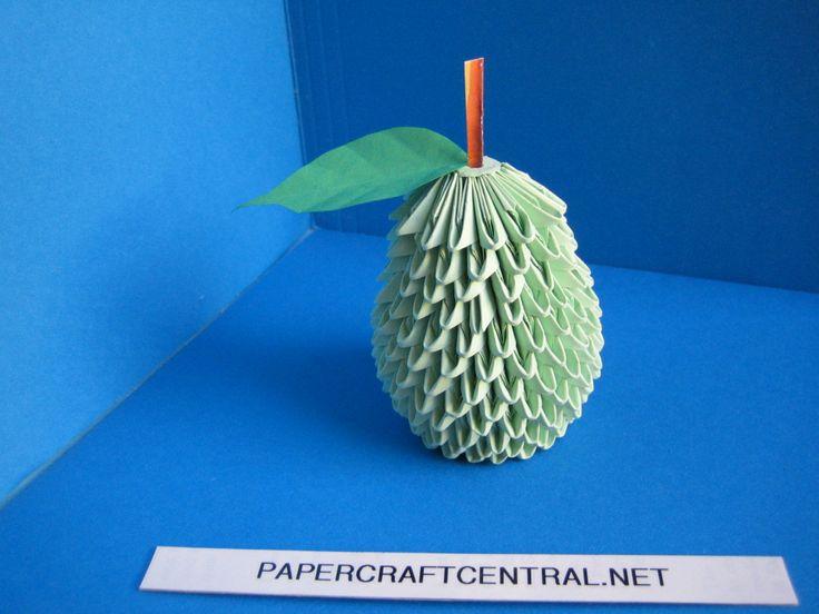 Схемы фигур из модульного оригами