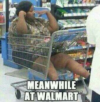 Meanwhile at WalMart... How is that even possible ???