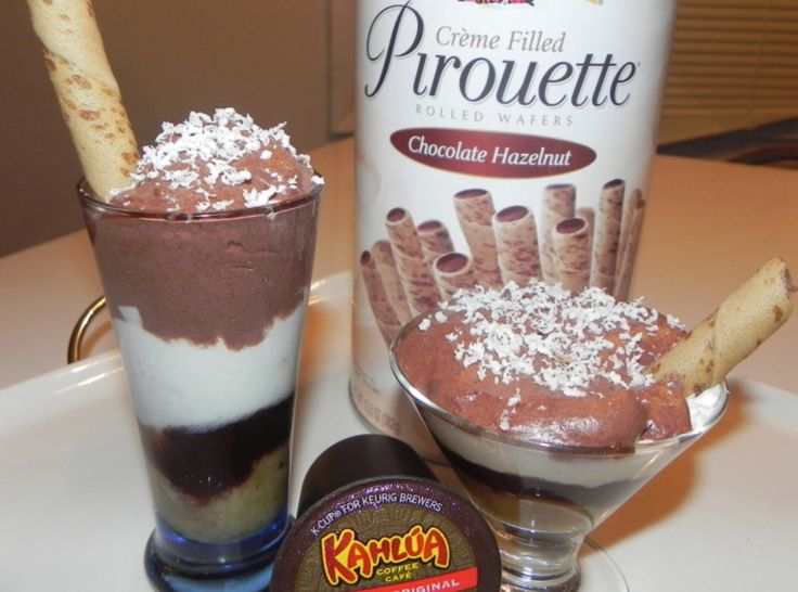 Chocolate Kahlua Mousse Recipe — Dishmaps
