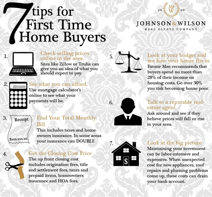 7 tips for first time home buyers first time homebuyers for Secrets to buying a house