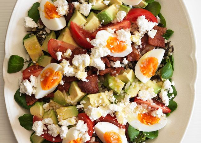 Cobb Salad with Grains | Recipe