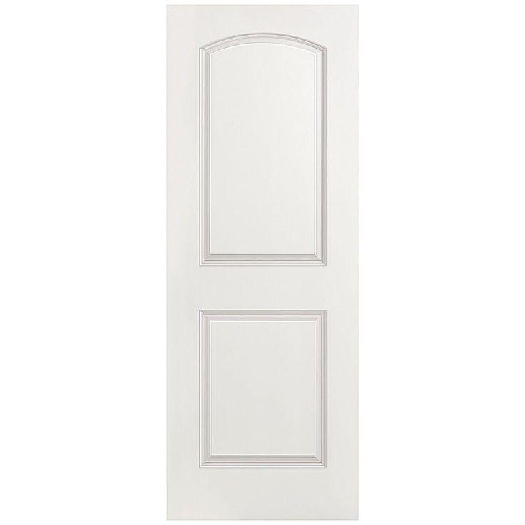 Prehung Doors Masonite Doors Roman Smooth 2 Panel Round