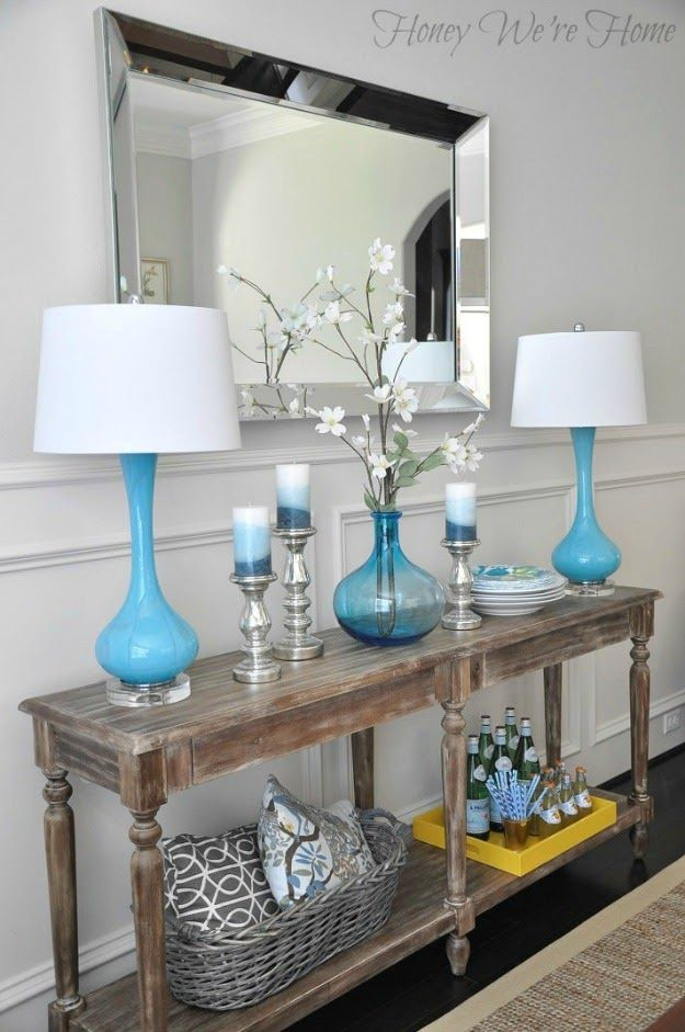 everett foyer table by honey we re home for the home