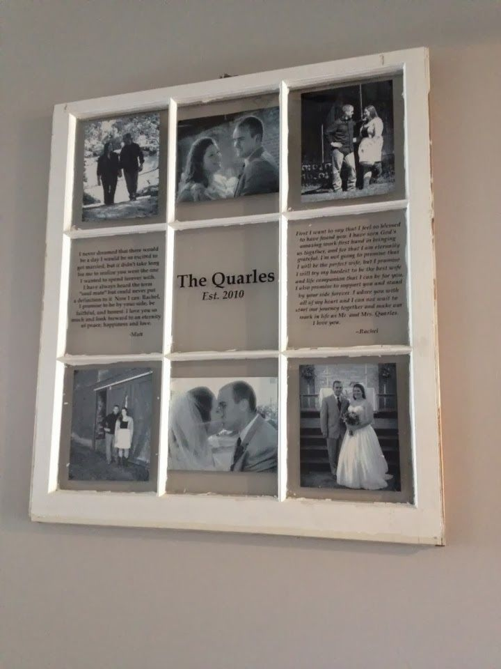 My diy window picture frame creative ideas pinterest for Using old windows as picture frames