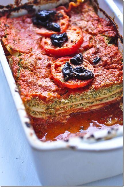 Vegan lasagna   Vegan/Vegetarian   Pinterest