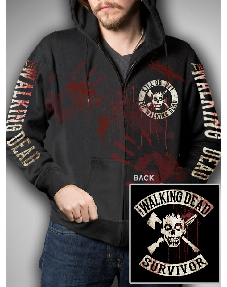 The Walking Dead Survivor Hoodie | I'm Geeky And I Know It | Pinterest