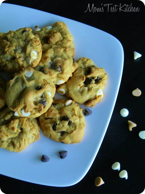 Mom's Test Kitchen: Butterscotch Pudding Triple Chip Cookies # ...