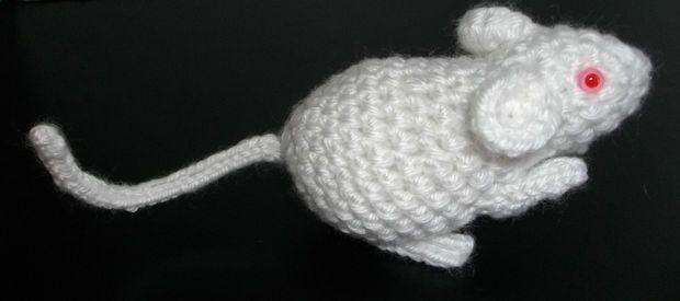 Amigurumi Lab Rat : Lab Rat Crochet-amigurumi-toys Pinterest
