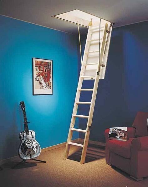 Escaleras escamoteables escaleras stairs pinterest - Disenos de escaleras interiores fotos ...